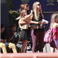 Victoria Beckham with her kids at Universal City Walk  131051