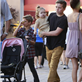 Victoria Beckham with her kids at Universal City Walk  131055