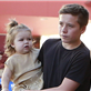 Victoria Beckham with her kids at Universal City Walk  131056