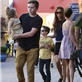 Victoria Beckham with her kids at Universal City Walk  131058