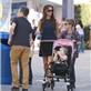Victoria Beckham with her kids at Universal City Walk  131061