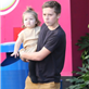 Victoria Beckham with her kids at Universal City Walk  131064