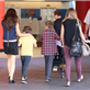 Victoria Beckham with her kids at Universal City Walk  131065
