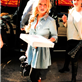 Hayden Panettiere getting pizza for lunch, New York City 129602