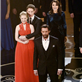 Hugh Jackman performs at the 85 Annual Academy Awards with Les Miserables cast members 141286