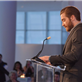 Jake Gyllenhaal speaks at the Headstrong Project's first ever Words of War event at the IAC Building 150925