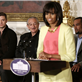 MIchelle Obama speaks as Justin Timberlake, Sam Moore, Mavis Staples, Charlie Musselwhite, and Ben Harper listen at the White House 146346