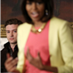 MIchelle Obama speaks as Justin Timberlake, Sam Moore, Mavis Staples, Charlie Musselwhite, and Ben Harper listen at the White House 146347