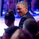 President Obama shares a moment with his daughter Sasha during a concert in honor of Memphis Soul music in the East Room of the White House 146348