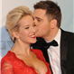 Michael Buble and his wife Luisana Lopilato at the 2013 Juno Awards at Brandt Centre in Regina, SK 147262