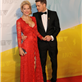 Michael Buble and his wife Luisana Lopilato at the 2013 Juno Awards at Brandt Centre in Regina, SK 147263