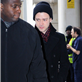 Justin Timberlake poses with fans at BBC Radio 1  140934