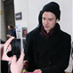 Justin Timberlake poses with fans at BBC Radio 1  140936