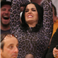 Katy Perry and her dad at the Lakers vs The Dallas Mavericks opening game of the season at the Staples Center in Los Angeles, CA 130738