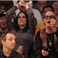 Katy Perry and her dad at the Lakers vs The Dallas Mavericks opening game of the season at the Staples Center in Los Angeles, CA 130739