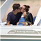 Keira Knightley and James Righton on their Honeymoon in Corsica, France  150420
