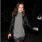 Keira Knightley pictured leaving the Groucho members club in Soho in the early hours of the day in London 151170