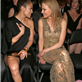 Jennifer Lopez and Casper Smart sit with Nicole Kidman and Casper Smart at the 55th Annual Grammy Awards  139465
