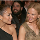 Jennifer Lopez and Casper Smart sit with Nicole Kidman and Casper Smart at the 55th Annual Grammy Awards  139467