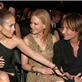 Jennifer Lopez and Casper Smart sit with Nicole Kidman and Casper Smart at the 55th Annual Grammy Awards  139468
