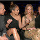 Jennifer Lopez and Casper Smart sit with Nicole Kidman and Casper Smart at the 55th Annual Grammy Awards  139470