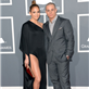 Jennifer Lopez and Casper Smart at the 55th Annual Grammy Awards  139474