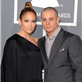 Jennifer Lopez and Casper Smart at the 55th Annual Grammy Awards  139478