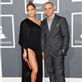Jennifer Lopez and Casper Smart at the 55th Annual Grammy Awards  139479