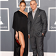Jennifer Lopez and Casper Smart at the 55th Annual Grammy Awards  139481