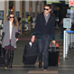 Cory Monteith and Lea Michele arrive at YVR to catch a flight back to Los Angeles 132950