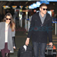 Cory Monteith and Lea Michele arrive at YVR to catch a flight back to Los Angeles 132951