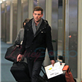 Cory Monteith and Lea Michele arrive at YVR to catch a flight back to Los Angeles 132952
