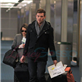 Cory Monteith and Lea Michele arrive at YVR to catch a flight back to Los Angeles 132953