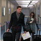 Cory Monteith and Lea Michele arrive at YVR to catch a flight back to Los Angeles 132954