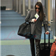 Cory Monteith and Lea Michele arrive at YVR to catch a flight back to Los Angeles 132955