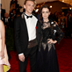 Lily Collins and Jamie Campbell Bower at the 2013 Costume Institute Gala 149482