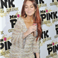 Lindsay Lohan at Mr. Pink's Ginseng Energy Drink launch in Beverly Hills  129196