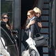 Lindsay Lohan hugs her mother after their big blowout last night 128963