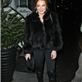 Linsday Lohan out in London the other night 135630
