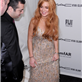 Lindsay Lohan at the amfAR gala in New York City  139954