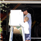 Ryan Phillippe with his son Deacon on Election Day 2012 131291