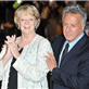 Maggie Smith and Dustin Hoffman at the London premiere of Quartet 129422
