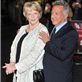 Maggie Smith and Dustin Hoffman at the London premiere of Quartet 129423