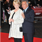 Maggie Smith and Dustin Hoffman at the London premiere of Quartet 129425