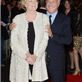 Maggie Smith and Dustin Hoffman at the London premiere of Quartet 129426
