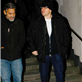 Matt Damon and George Clooney leaving Grill Royal in Berlin 139144