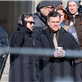George Clooney and Matt Damon on the set of The Monuments Men in Berlin  144825