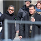 George Clooney and Matt Damon on the set of The Monuments Men in Berlin  144826