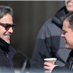 George Clooney and Matt Damon on the set of The Monuments Men in Berlin  144829