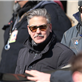George Clooney and Matt Damon on the set of The Monuments Men in Berlin  144830